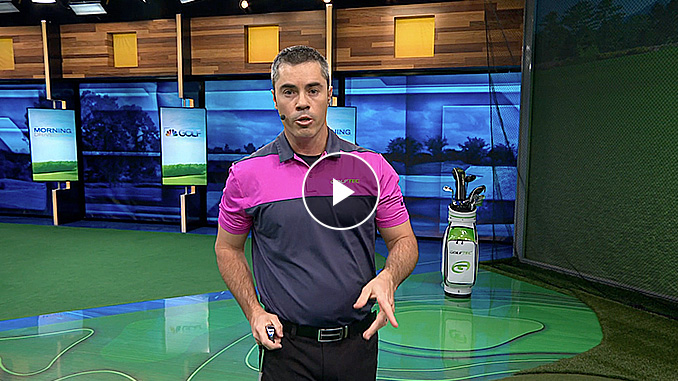Patrick Nuber has a drill you can do to make better contact for better shots in this exclusive Golf channel video.