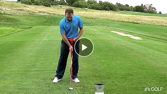 Nick Clearwater offers some quick tips to make better contact with your irons in this exclusive Golf channel video.