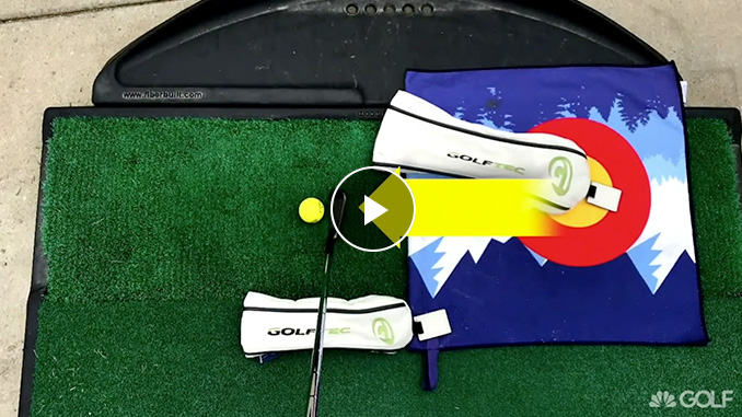 GOLFTEC Coach Nathan Morris shows you how to use common items as training aids.