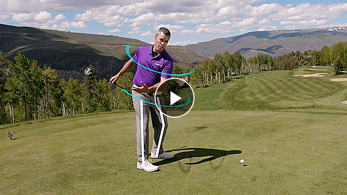 Patrick Nuber shows you how generate swing speed like Dustin Johnson in this exclusive Golf channel video.